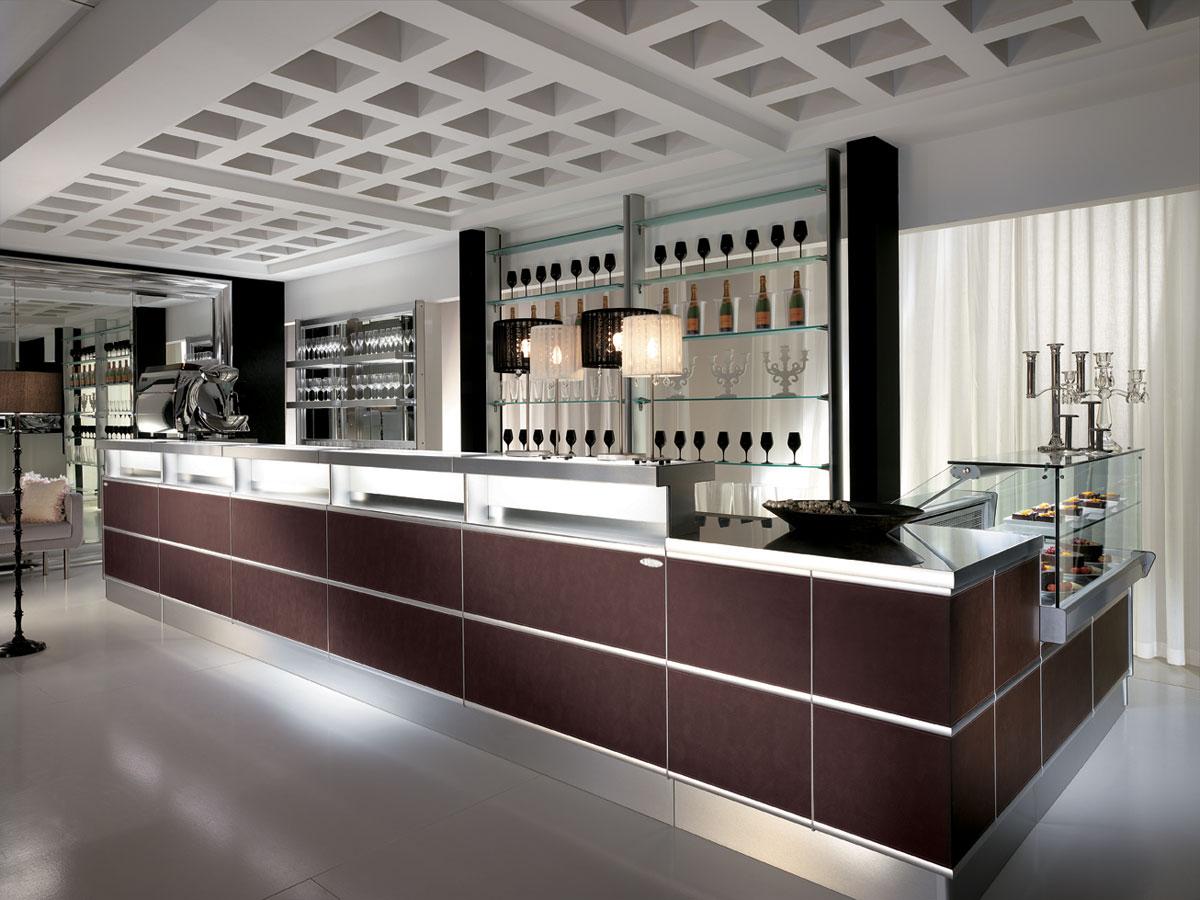 arredo bar modello strip skin. Black Bedroom Furniture Sets. Home Design Ideas