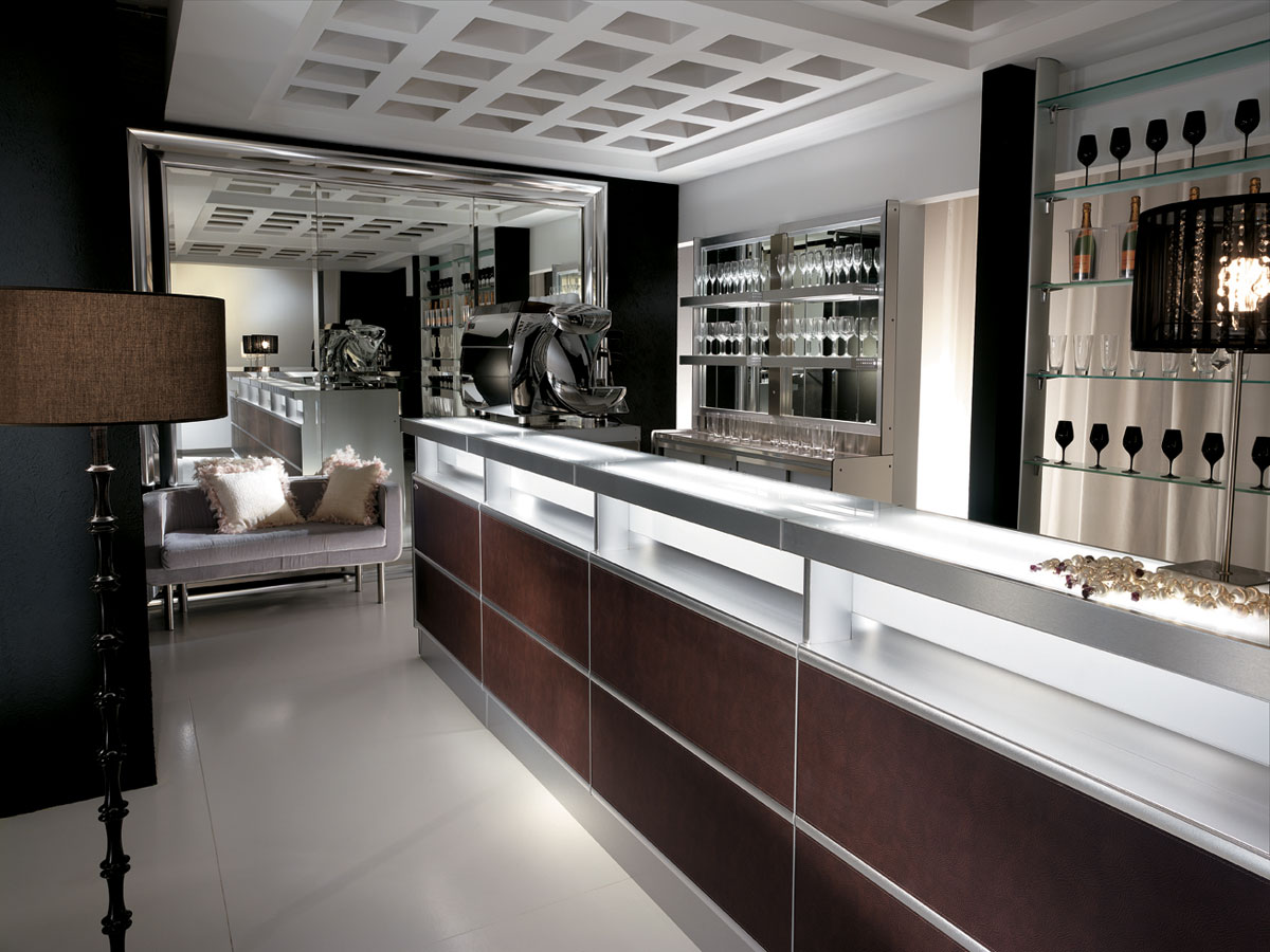 Arredo bar modello strip skin for Bar arredamento