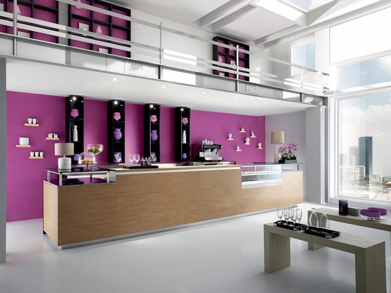 Arredo bar modello studio 12 for Arredamento studio professionale