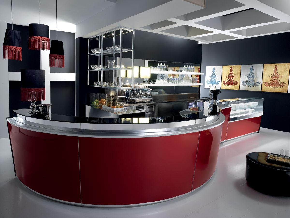Fotocucinecmoderne x bilocali for Arredamento bar moderno usato