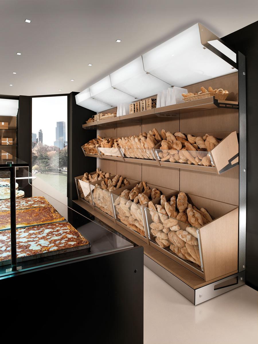 Arredamento per panetteria una scelta tra design e for Piani di costruzione del negozio con alloggi