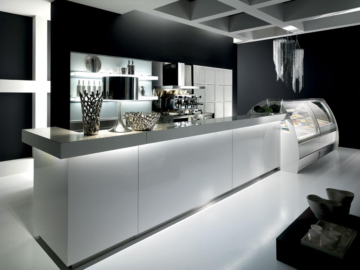 arredo bar modello modern. Black Bedroom Furniture Sets. Home Design Ideas