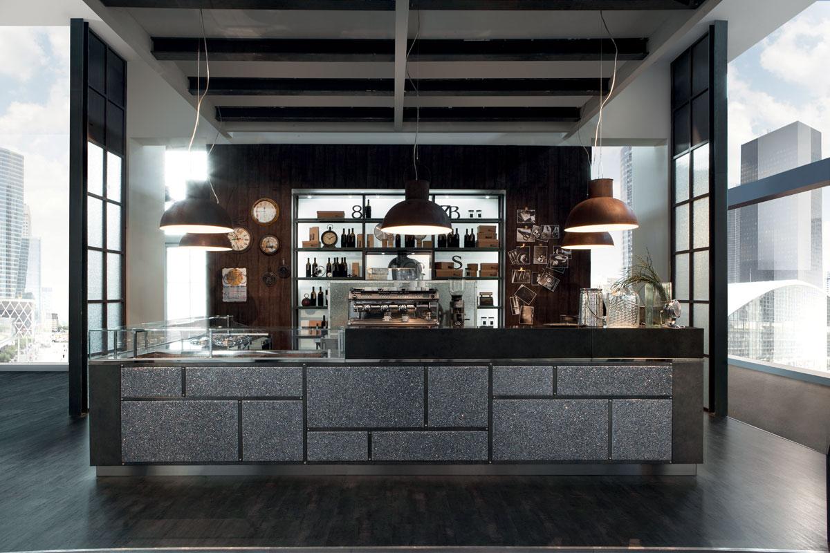 Arredo bar modello garage frigomeccanica for Arredamento per pub e birrerie
