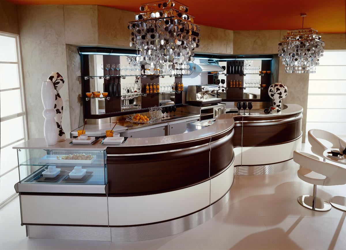 Arredo bar modello smart frigomeccanica for Martini arredamenti