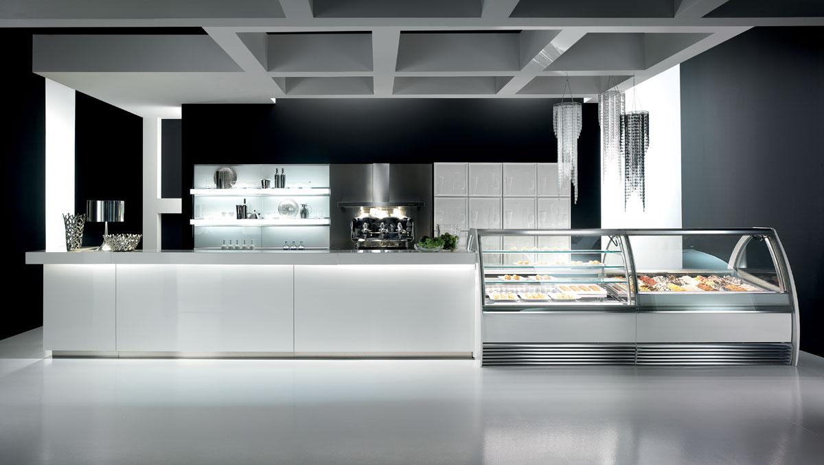 Arredo bar modello modern for Arredi bar moderni