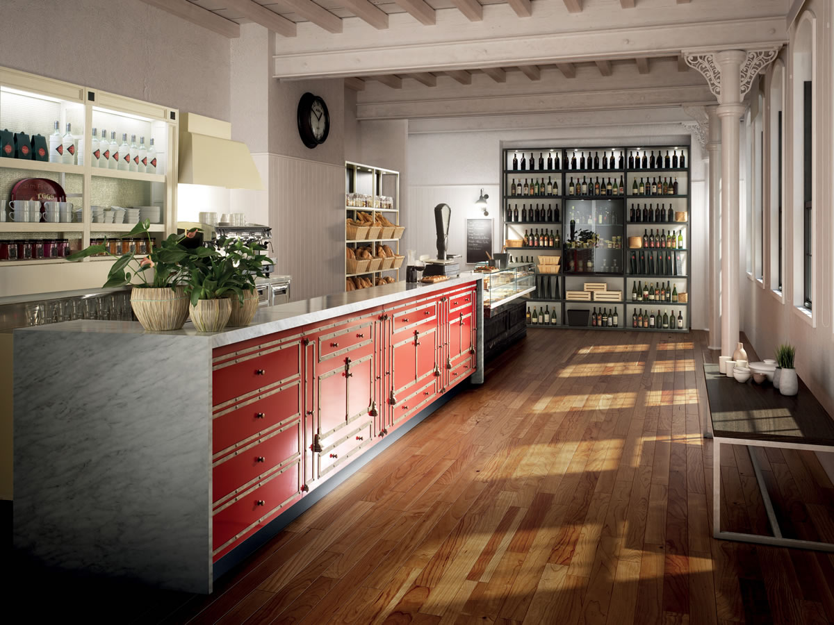 Arredo bar modello toscana for Arredo bar tonolli