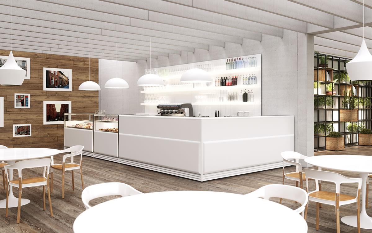 Arredo bar modello next for Arredamento pasticceria prezzi