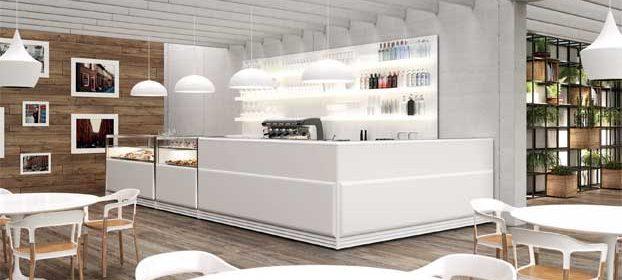 Arredo bar Next Total White