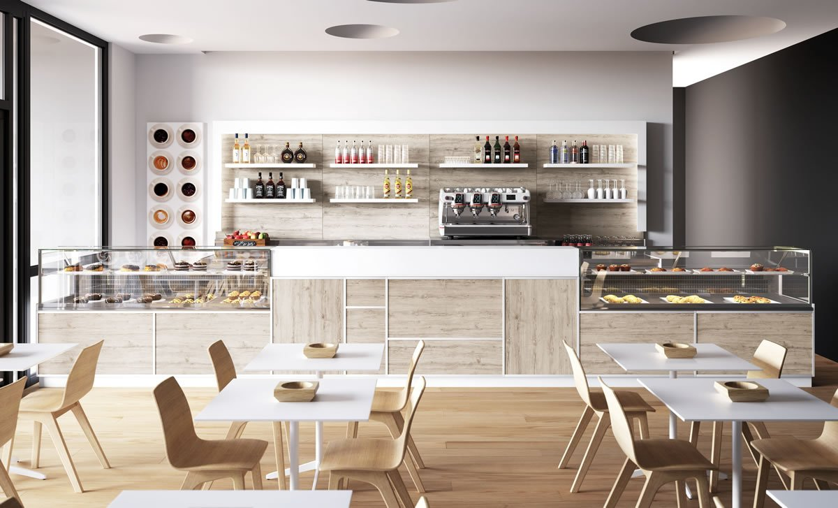 Quanto costa l 39 arredamento per il bar for Arredamento english