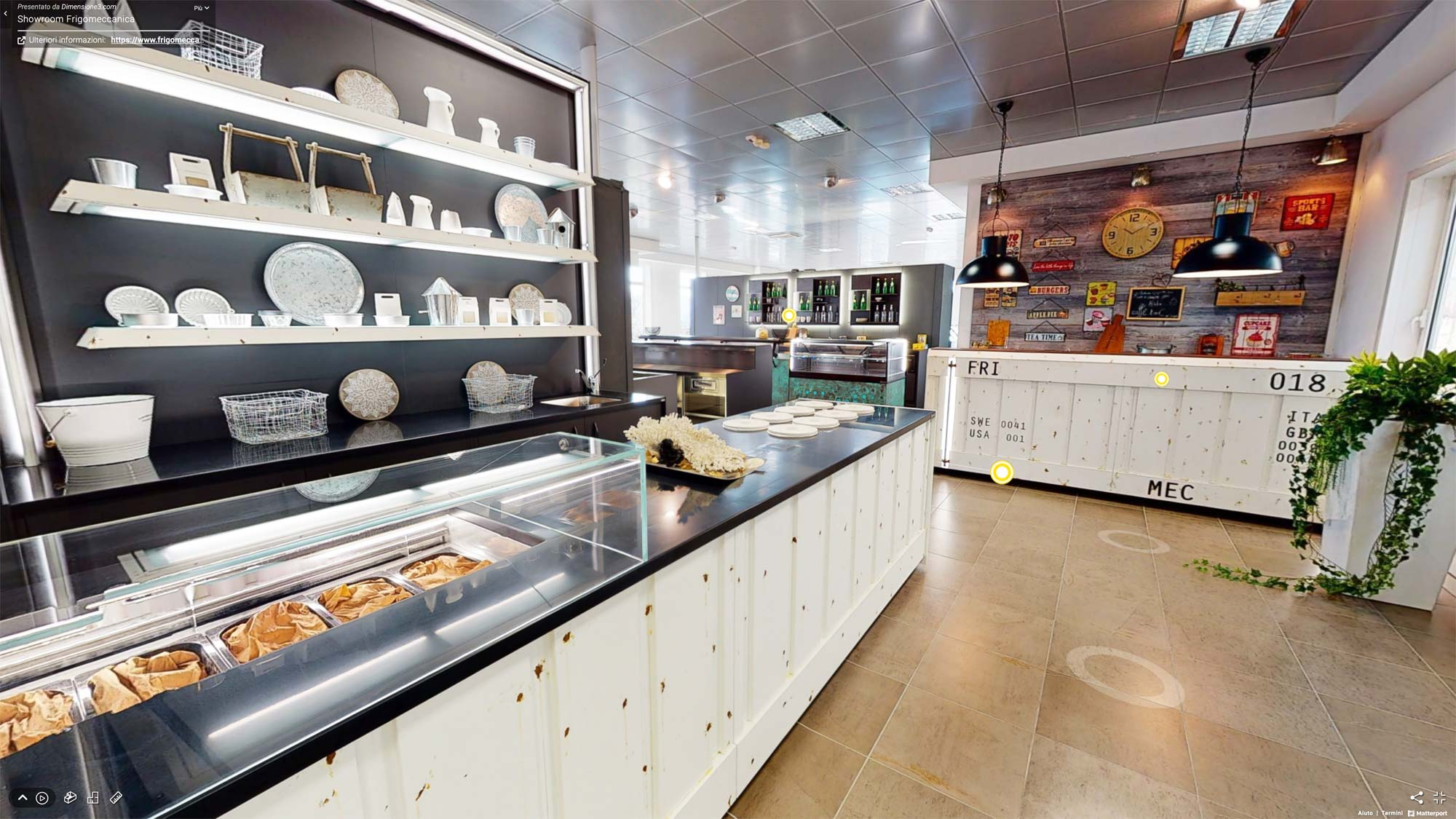 Lo showroom virtuale di Frigomeccanica