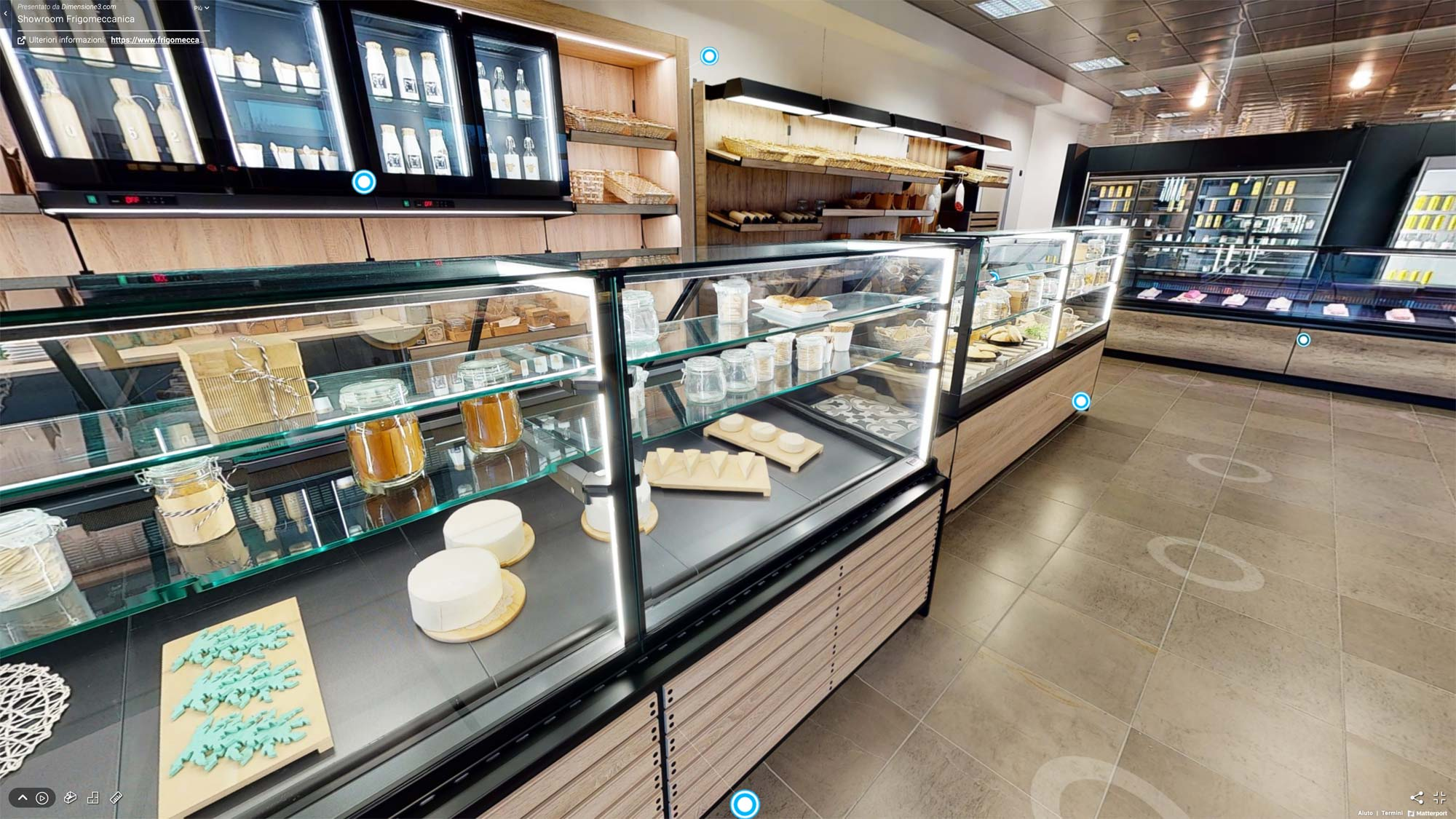 Tour virtuale showroom Frigomeccanica - Arredo Food