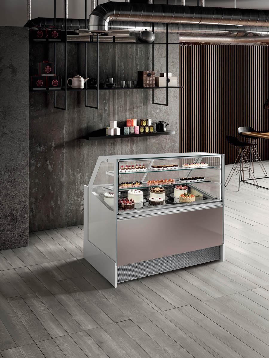 Ice Cream Showcases Model Alba Squared