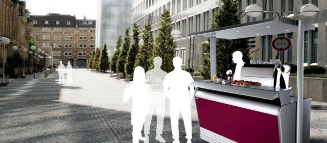 Allestire un bar all'aperto: il bar trasportabile per esterni