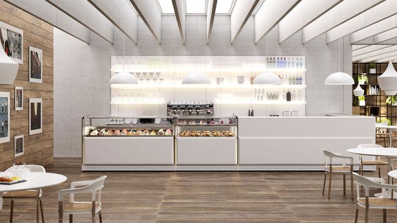 Come scegliere l 39 arredamento per gelateria for Latte arredamenti