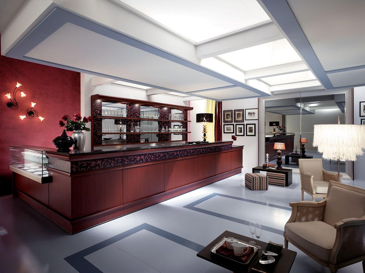 Come scegliere l arredamento bar per un hotel for Arredi per bar
