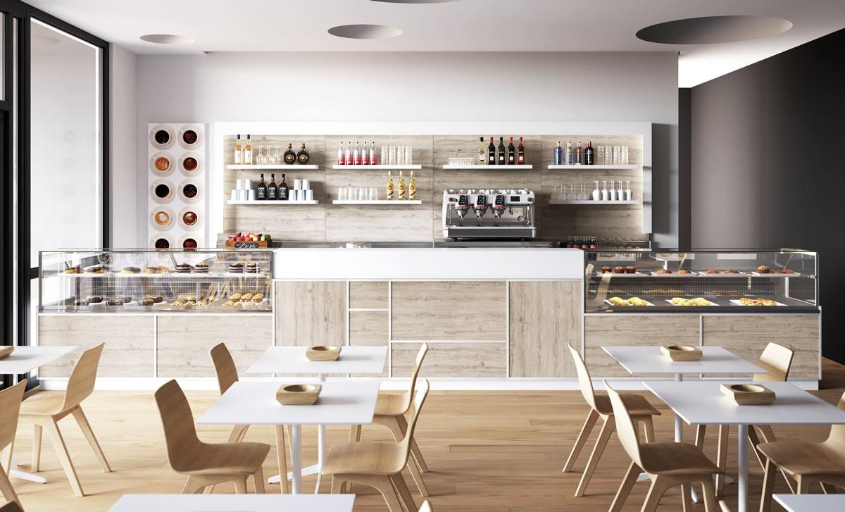 I bar di successo puntano a emozionare la clientela per for Banchi bar e arredamenti completi