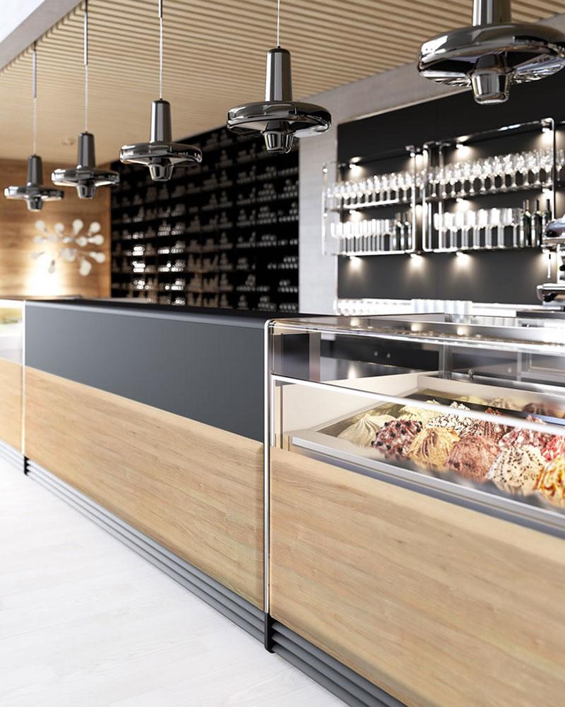 Come scegliere l 39 arredamento per gelateria for Arredamenti per gelaterie