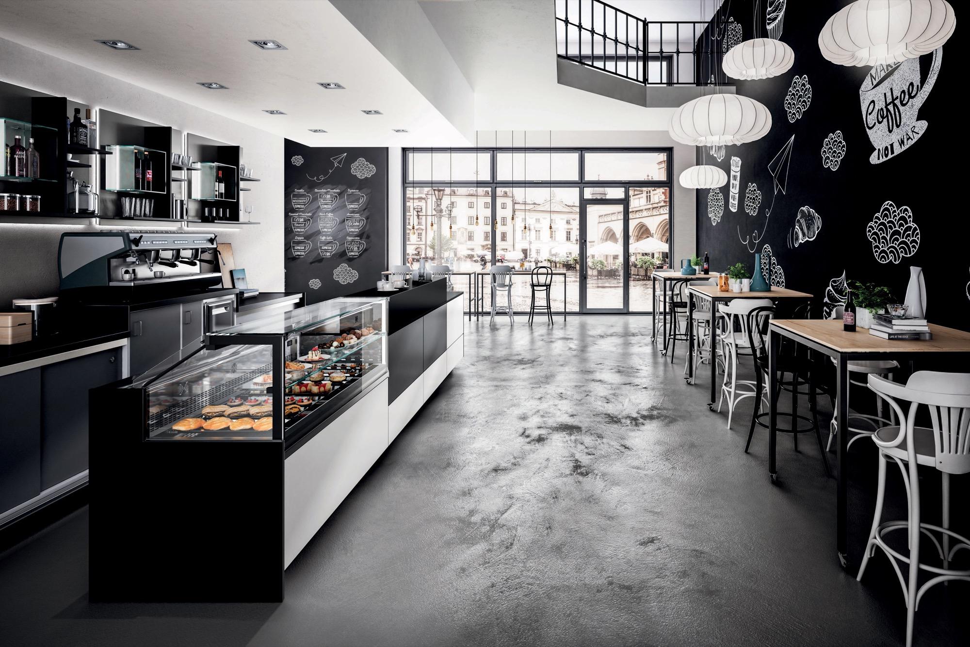 Arredi Bar Moderni bar furniture model be-like