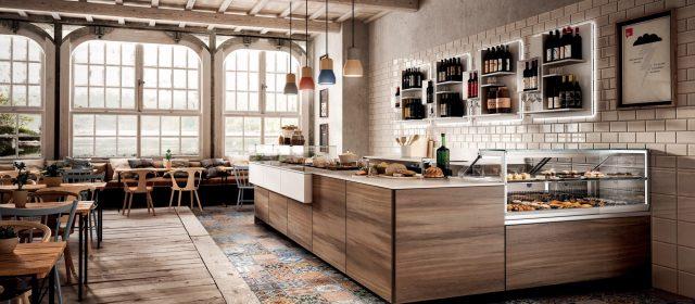 Un bancone bar economico, hi-tech e personalizzato