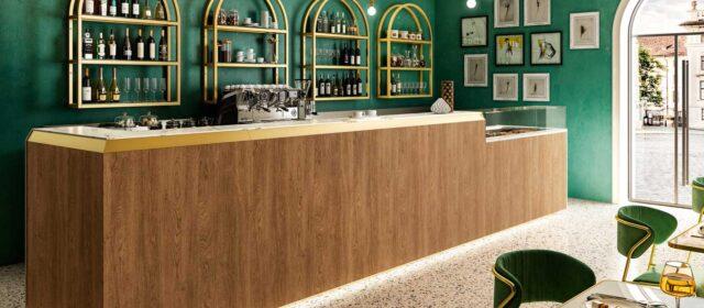 La ligne de mobilier Slack comprend un vaste choix de vitrines réfrigérées, chaudes ou neutres