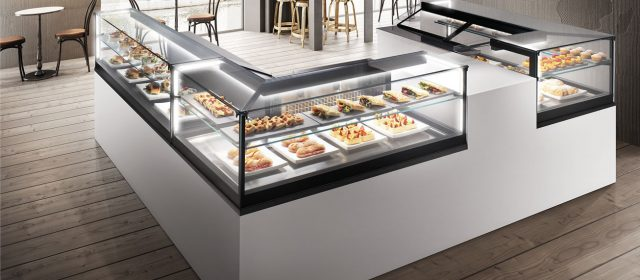 Just, a refrigerated, neutral, heated, and hot/cold display cases
