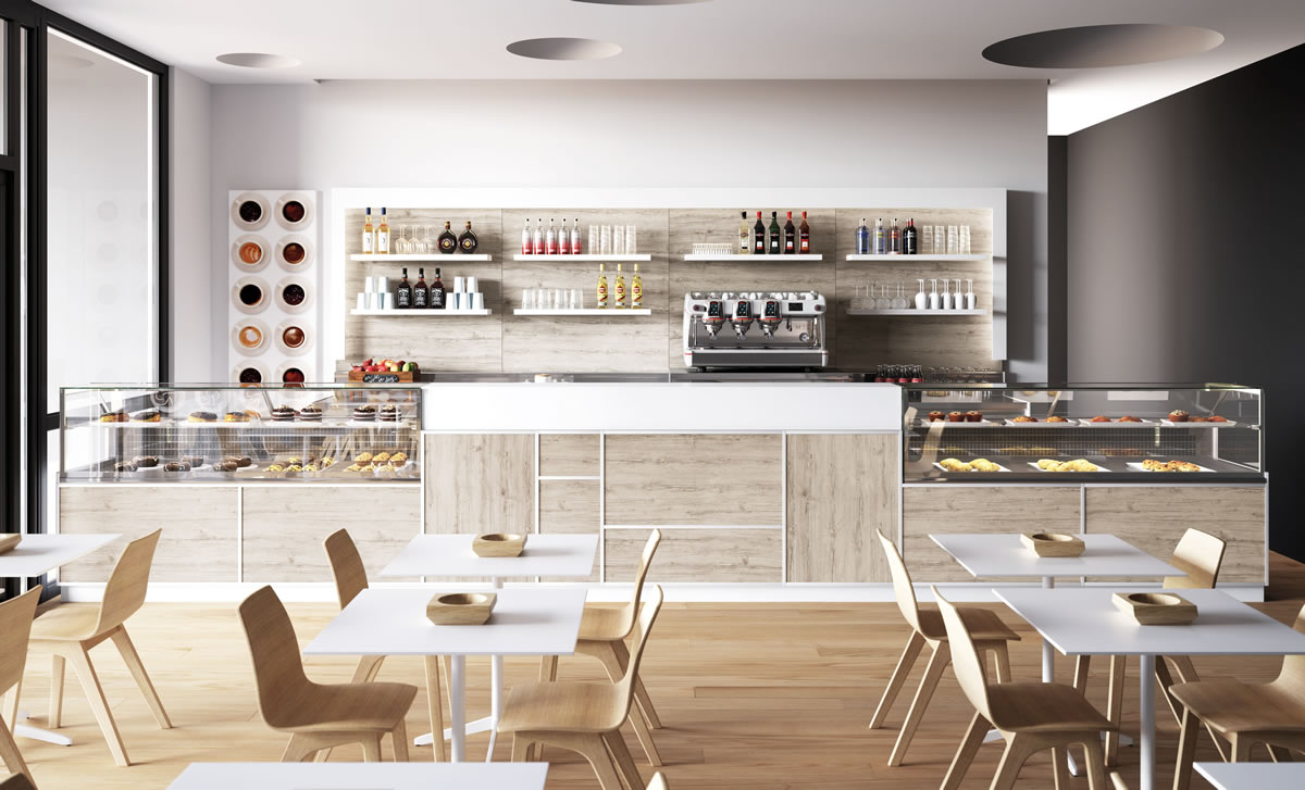 Come rinnovare l 39 arredamento di un bar per un restyling di for Arredo bar design