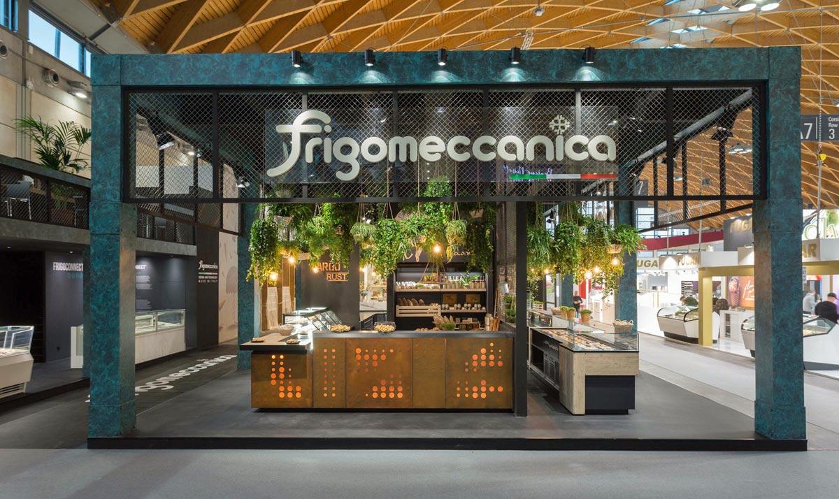 Lo stand di Frigomeccanica al SIGEP 2019